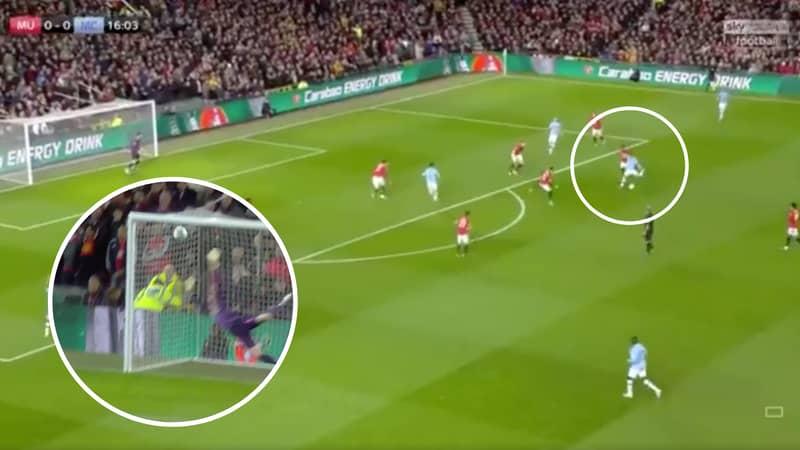 Bernardo Silva Scores Sensational 25-Yard Goal Against Manchester United