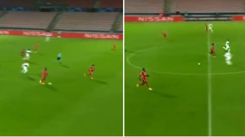 Hilarious Video Shows Liverpool's Mohamed Salah Running Away From Divock Origi Pass During Champions League Tie