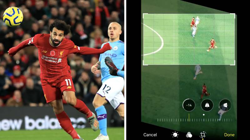Fan Thinks He's Proved Mohamed Salah Was Offside By Using App On His Phone