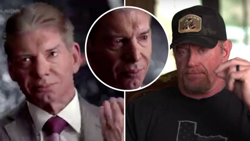 Vince McMahon Breaks Down In Tears When Talking About Special Relationship With The Undertaker