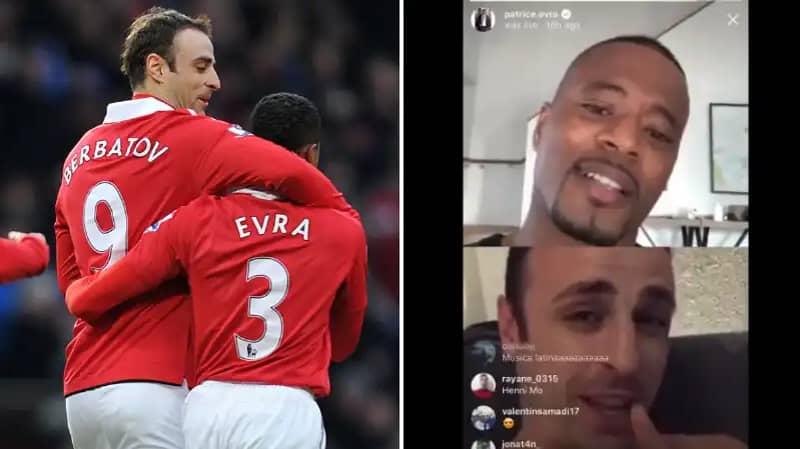 Patrice Evra Streams Hilarious Video Chat With Dimitar Berbatov