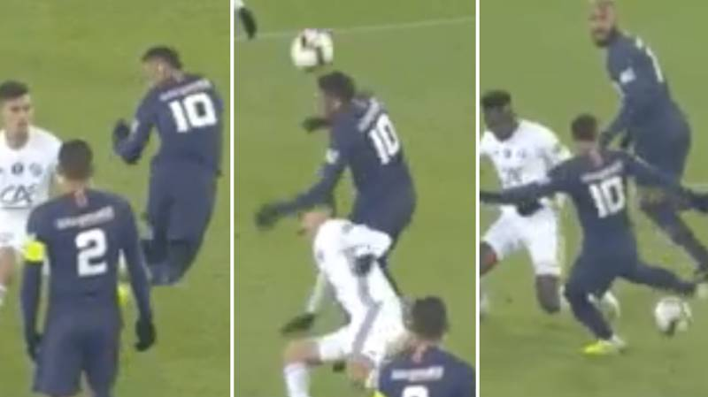 Neymar Came Close To A Puskas Award Winner Out Of Frustration