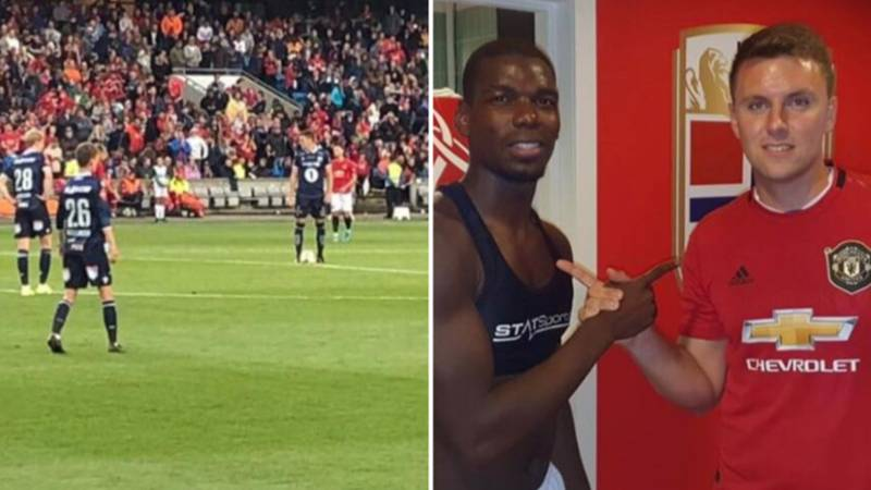 Meet The Injured Player Who Played The Final Seconds Against Manchester United