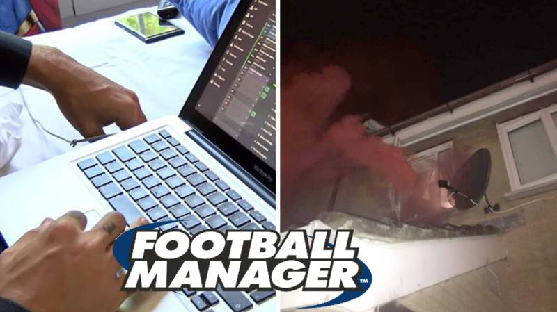 Man Spotted Setting Off Flare In His Bedroom After Winning The League On Football Manager