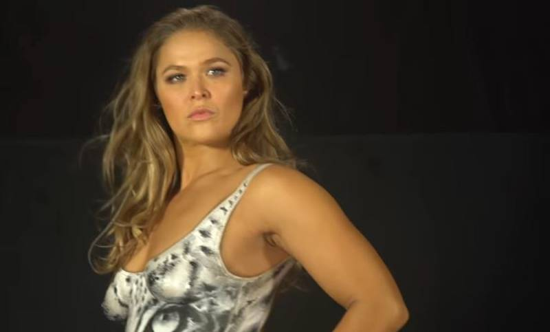 WATCH: Celebrate Ronda Rousey's 30th Birthday With Her Bodypainted Photo Shoot