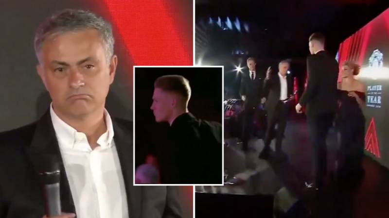 Jose Mourinho Invented His Own Award At Manchester United And Gave It To Scott McTominay