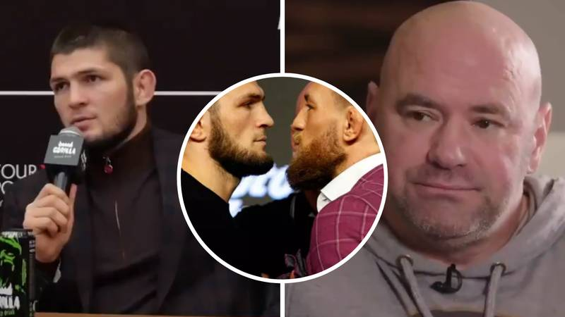 Khabib Nurmagomedov Slams Dana White's Plan For Conor McGregor Rematch