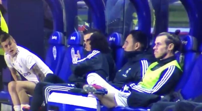 Gareth Bale Refuses To Warm-Up For Real Madrid Against Levante
