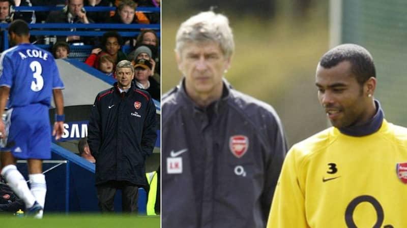 Ashley Cole Thanks Wenger For Having His 'Back', Arsenal Fans Explode In Anger