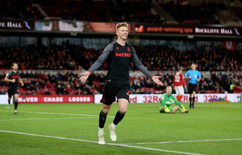 Sam Clucas Celebrates In Front Of His Old Team's Fans After Goal