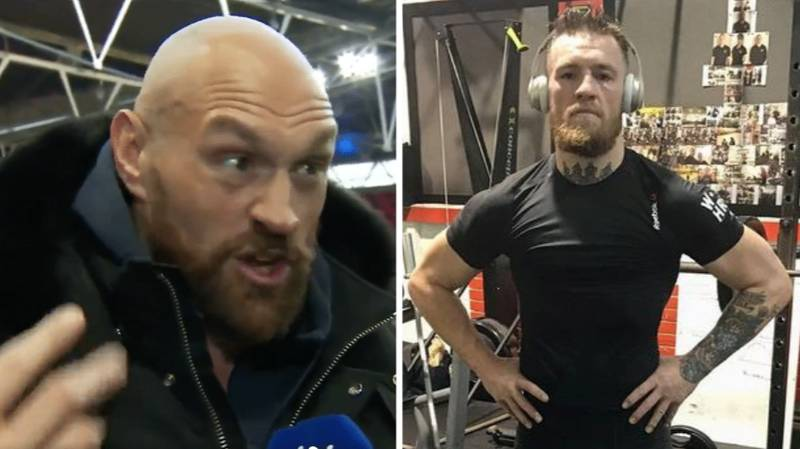 Conor McGregor Responds To Tyson Fury After 'Agreeing' To Become His MMA Trainer