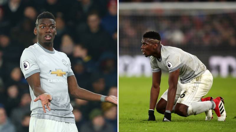 Absent Paul Pogba Was Injured By One Of His Teammates