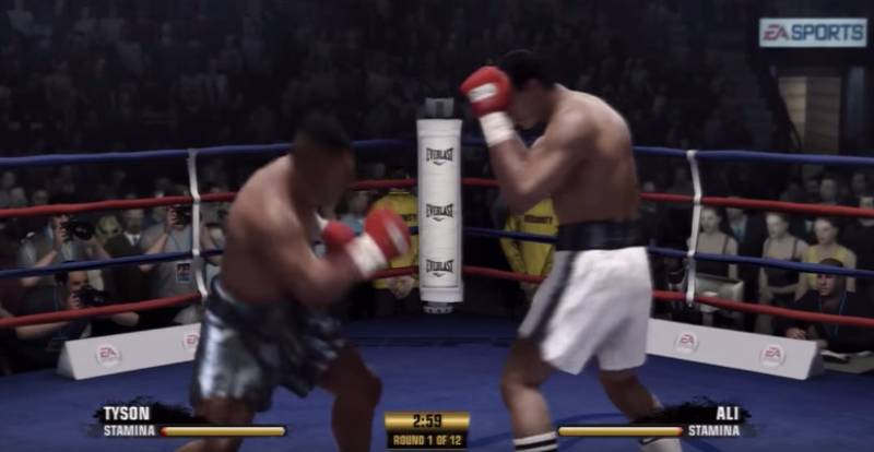 Muhammad Ali Vs Mike Tyson Fight Night Champion Simulation Ends With A Brutal KO