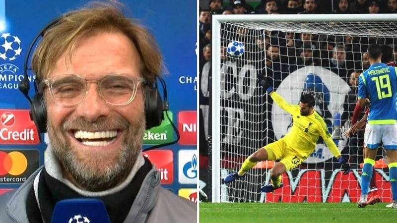 """Jurgen Klopp: """"If I Knew Alisson Was This Good, I Would Have Paid Double!"""""""