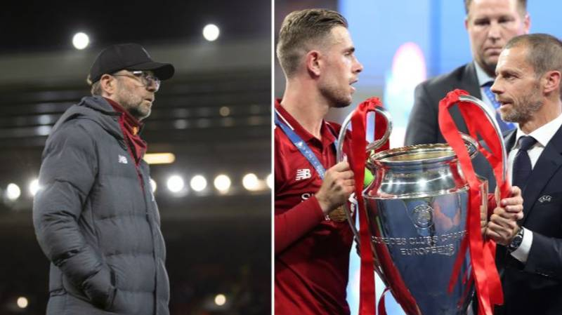 UEFA Say Liverpool Won't Be Crowned Champions If Season Is Cancelled