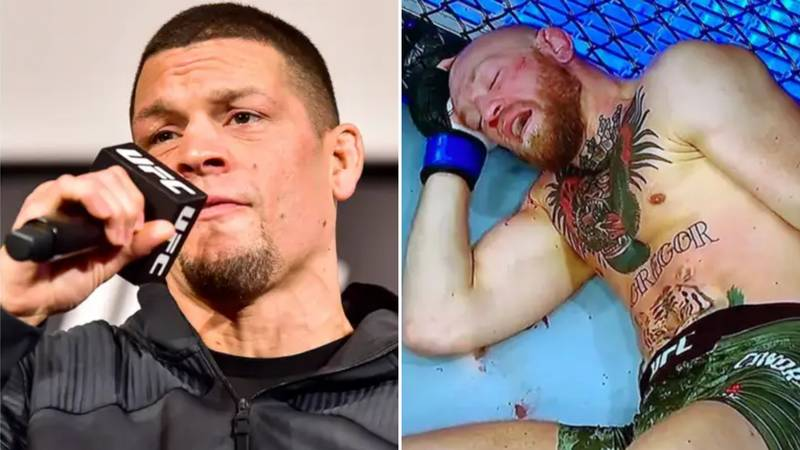 Nate Diaz Responds To Conor McGregor's Loss To Dustin Poirier