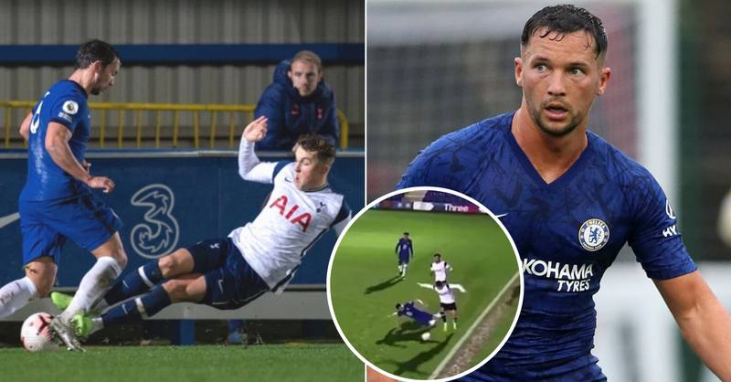 New Angle Of Horror Tackle On Danny Drinkwater Explains Chelsea Midfielder's Angry Reaction