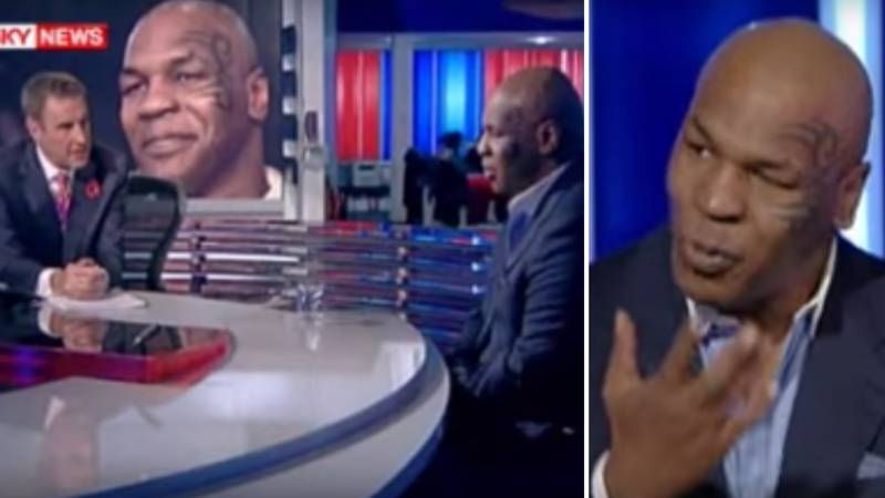 'Irritated' Mike Tyson Calls Out Reporter For Asking Him Questions About His Controversial Comments