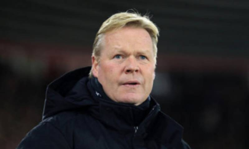 Angry Everton Fans Force Ronald Koeman To Change His Xmas Tree