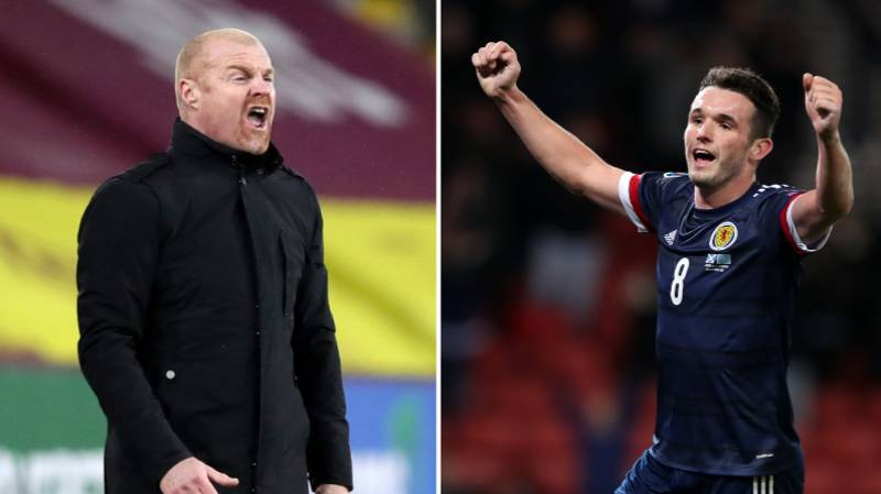 "Alleged ""Touchline Row"" Between Sean Dyche And John McGinn Is Absolute Gold"
