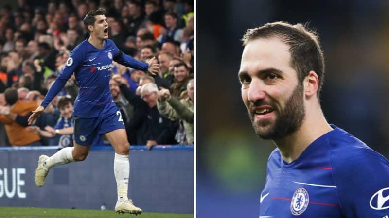 Chelsea Fans Would Prefer To Have Alvaro Morata Than Gonzalo Higuain