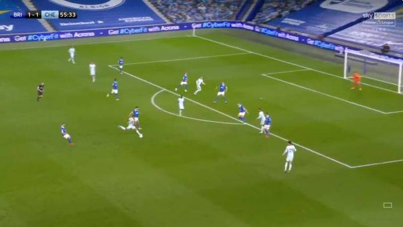 Reece James Scores Incredible 35-Yard Thunderbolt Goal For Chelsea Against Brighton