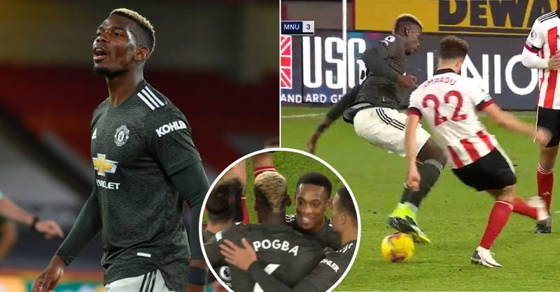 Fans Thought Paul Pogba Ran The Show Last Night With Outrageous Skills