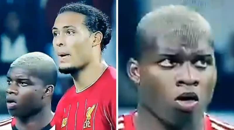 Flamengo Player's Reaction To Marking Virgil Van Dijk Is Hilarious