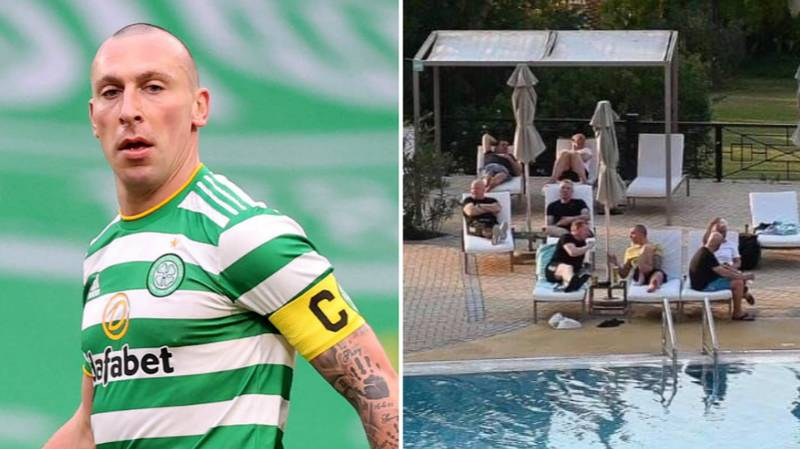 Scott Brown Hits Back At Criticism Over Controversial Dubai Poolside Picture With Neil Lennon