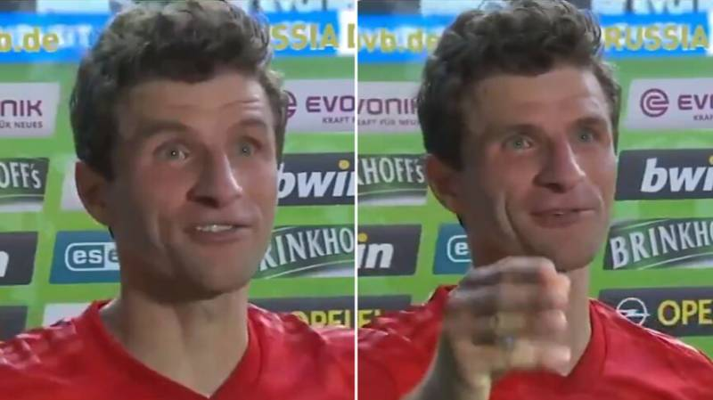 Thomas Muller Calls Alphonso Davies 'The FC Bayern Roadrunner' After His Blistering Pace Vs Borussia Dortmund