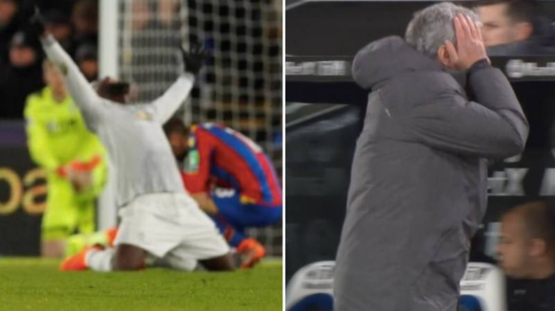 Romelu Lukaku Almost Punched Through The Ground After Nemanja Matic's 91st Minute Winner