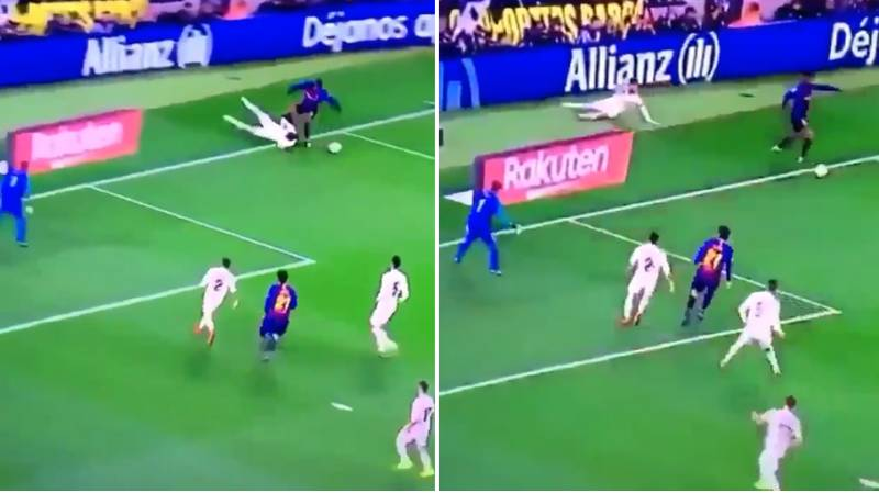 Nelson Semedo Sent Sergio Ramos Back To The Sevilla Youth Team In Last Night's El Clasico
