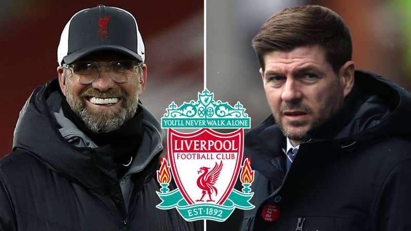 Reds Legend Steven Gerrard Lined Up To Replace Jurgen Klopp As Liverpool Manager