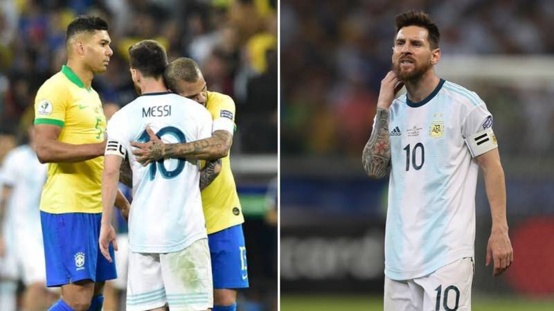 """Dani Alves: """"In Argentina Everything Is Lionel Messi's Fault. I Feel Sorry For Him"""""""