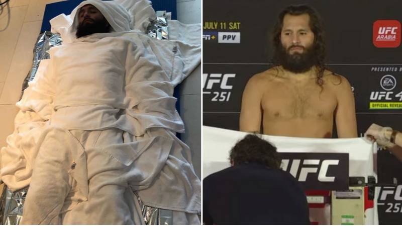 Jorge Masvidal Strips Naked To Make Weight For UFC 251 Fight Against Kamaru Usman