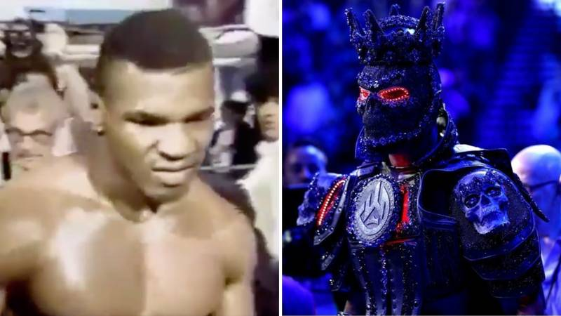 Mike Tyson's Menacing Ring Walk Was More Intimidating Than Deontay Wilder's Entrance