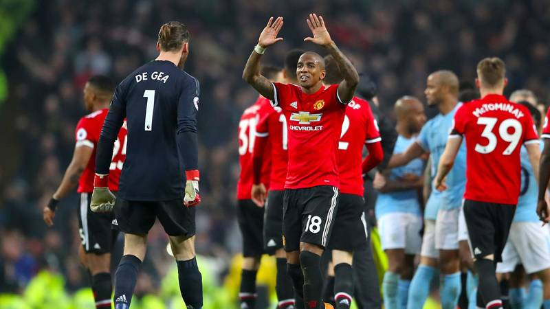 What Ashley Young Said At Half-Time To Help Inspire Manchester Derby Comeback
