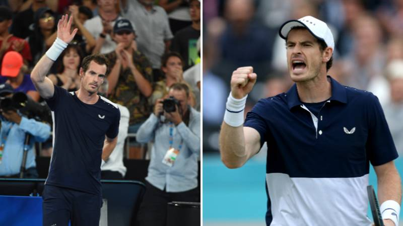 Andy Murray Confirmed To Make Grand Slam Singles Return At Australian Open