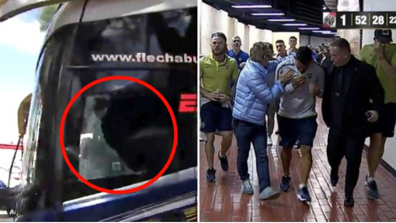 Boca Juniors Bus Attacked By River Plate Fans Ahead Of Copa Libertadores Final