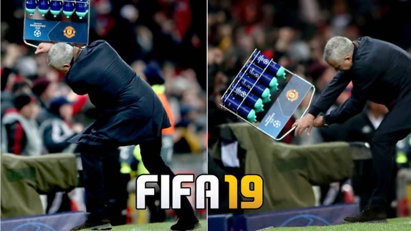 Fans Want Jose Mourinho's 'Bottle Smash' Celebration To Be Added On FIFA