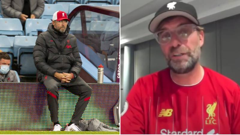 What Jurgen Klopp Said To His Team After Liverpool's Humiliating 7-2 Defeat To Aston Villa