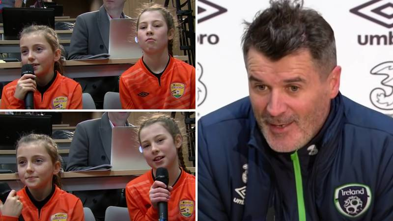 Man United Legend Roy Keane Was Interviewed By Kids And Showed A Completely Different Side To Him