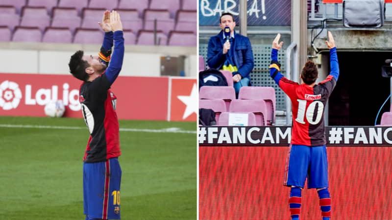 Barcelona Delete Tweet About Lionel Messi's Tribute To Diego Maradona After Social Media Backlash