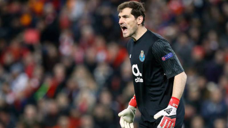 Iker Casillas Was Given An Incredible Reception At Anfield, Last Night