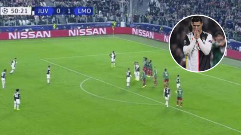 Cristiano Ronaldo Hasn't Scored A Free-Kick In 28 Attempts For Juventus