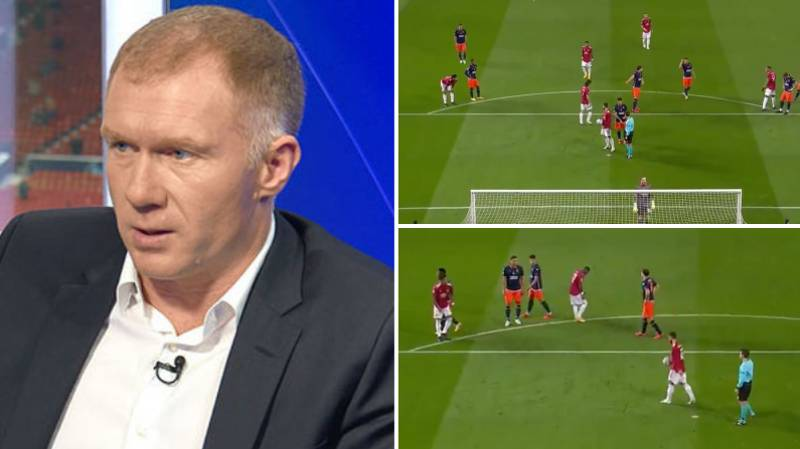 Paul Scholes Was Baffled By Bruno Fernandes' Decision Before Marcus Rashford Converted Penalty