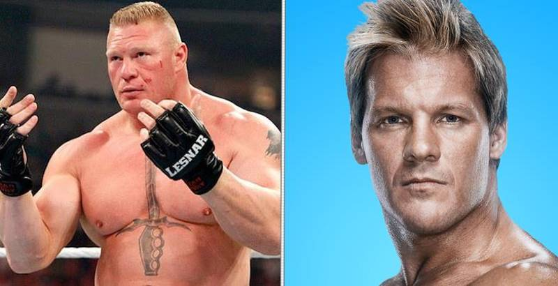 Brock Lesnar And Chris Jericho Had To Be Pulled Apart Backstage At SummerSlam