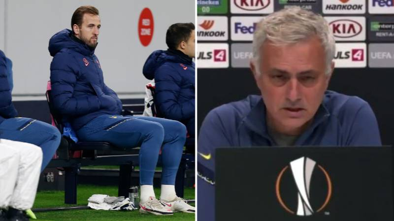 Jose Mourinho Claims Harry Kane Could Miss The North London Derby