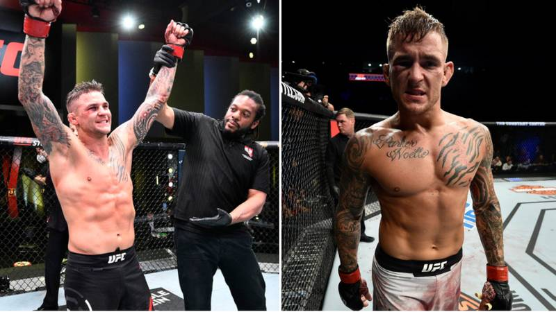 """""""Scared"""" Dustin Poirier Called Out To Grudge Match By UFC Star"""
