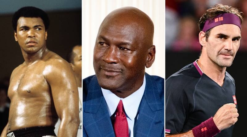 The 50 Greatest Sports Athletes Of All Time Have Been Ranked